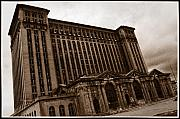 Decay - Michigan Central Station by April A Taylor