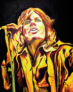 Jagger Paintings - Mick by Jacqueline DelBrocco