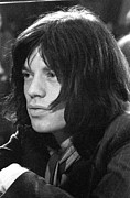 Mick Jagger Photos - Mick Jagger 1968 by Chris Walter
