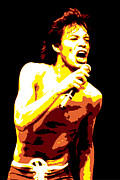 Sex Digital Art - Mick Jagger by Dean Caminiti