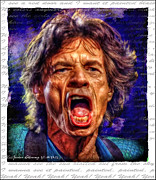 Mick Jagger Originals - Mick Jagger by Javier Alvarez