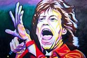 Mick Jagger Print by Ken Huber