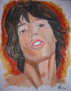 Mick Print by Joseph Papale