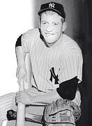 Mickey Mantle Painting Originals - Mickey by Ferrel Cordle