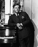 Pinstripe Framed Prints - Mickey Rooney, Circa 1940 Framed Print by Everett