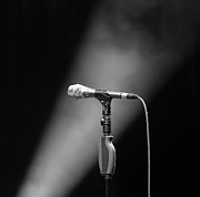 Microphone Stand Prints - Micro Print by Fotografiiando el mundo