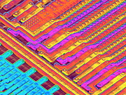 Processor Prints - Microchip Surface, Sem Print by Power And Syred