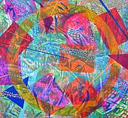 Overlapping Circles Metal Prints - Microcosm IV Metal Print by Rollin Kocsis