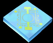 Microscopic Prints - Microscopic Pressure Sensor Print by Volker Steger