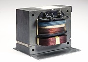 Alternating Current Prints - Microwave Oven Transformer Print by Sheila Terry