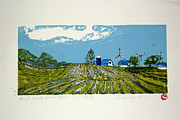 Generators Painting Prints - Mid West Wind Frm Print by Andrew Jagniecki