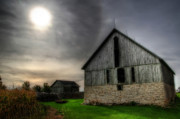 Wood - MidDay Barn by Joel Witmeyer