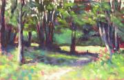 Works Pastels - Midday in the Country by Mary McInnis