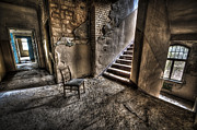 Haunted House Photo Acrylic Prints - Middle floor seating Acrylic Print by Nathan Wright
