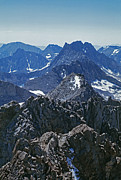 Crest Posters - Middle Palisade And The Palisade Crest Poster by Gordon Wiltsie