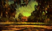 Middleton Prints - Middleton Place in Charleston Print by Susanne Van Hulst