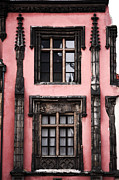 Praha Photos - Midevil Windows by John Rizzuto
