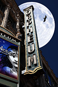 San Francisco Metal Prints - Midnight at The Orpheum - San Francisco California - 5D17991 Metal Print by Wingsdomain Art and Photography