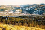 Attraktion Metal Prints - Midnight Dome - Dawson City Metal Print by Juergen Weiss