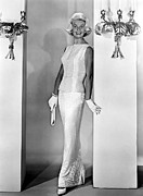 Doris Day Framed Prints - Midnight Lace, Doris Day, 1960, Evening Framed Print by Everett