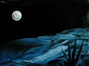 Encaustic Paintings - Midnight by Melinda Etzold