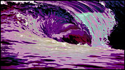 Big Wave Posters - Midnight Monster Poster by Brad Scott