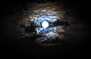 Nikon D90 Prints - Midnight Moon 2 Print by Ronda Broatch