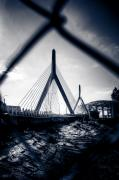 Zakim Bridge Photos - Midnight Zakim by Andrew Kubica