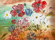 Midsummer Prints - Midsummer Delight Print by Pepita Selles