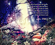 Shakespeare Metal Prints - Midsummer Night Dream Metal Print by Mo T
