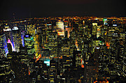 Cityscapes Prints - Midtown NYC Print by Randy Aveille