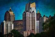 Four Seasons Framed Prints - Midtown Skyline Framed Print by Doug Sturgess