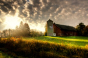 Joel Witmeyer Prints - Midwest Morning Print by Joel Witmeyer