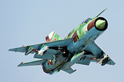 Aa Photos - Mig-21bis Taking Off Armed With Aa-8 by Anton Balakchiev