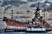 Warship Prints - Mighty Mo Print by Phillips Photography