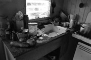 Dilapidated Farm Originals - Migrant Farmworker Kitchen by Arni Katz