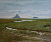 Lucinda Coldrey - Migrating birds Mont...