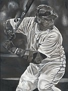 David Courson Art - Miguel Cabrera by David Courson
