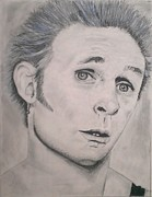 Green Day Drawings Originals - Mike Dirnt by Brittany Frye
