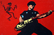Social Paintings - Mike Ness by Steven Sloan