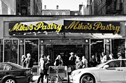 Joseph Duba Metal Prints - Mikes Pastry in Boston 2011 Metal Print by Joseph Duba