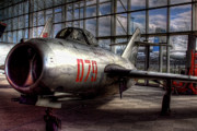 Boeing Museum Of Flight Acrylic Prints - Mikoyan-Gurevich MiG-17 by David Patterson