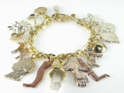 Romantic Jewelry Originals - Milagro Crystal Charm Bracelet by Esprit Mystique