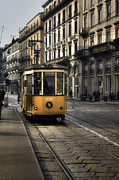 Tram Photos - Milan Italy by Joana Kruse