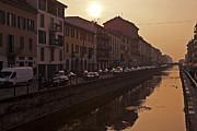 Milan Naviglio Grande Print by Joana Kruse