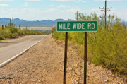Mile Road Posters - Mile Wide Road of Arizona Poster by Steven Love