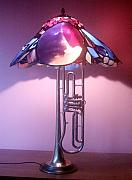 Creative Glass Art - Miles Davis Lamp by Greg Gierlowski