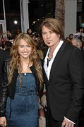 Fringe Jacket Photos - Miley Cyrus Wearing An Alberta Ferretti by Everett