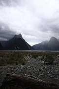 Misty Landscape Framed Prints - Milford Sound Framed Print by Pixel Chimp