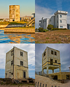 Topsail Island Framed Prints - Military Observation Towers Operation Bumblebee Framed Print by Betsy A Cutler East Coast Barrier Islands